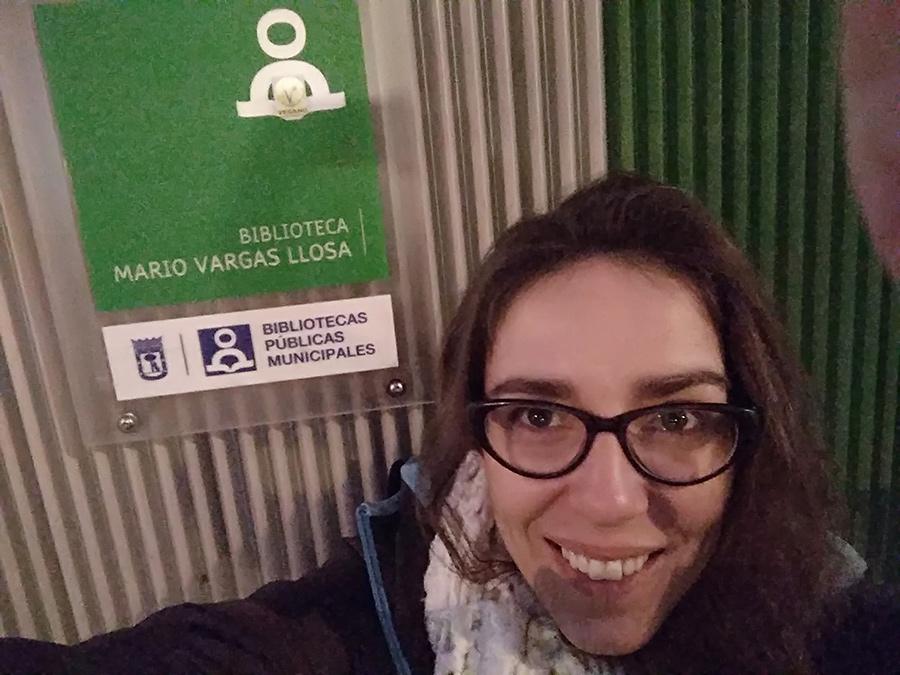 Aurora Maroto Linares-Biblioteca Mario Vargas Llosa
